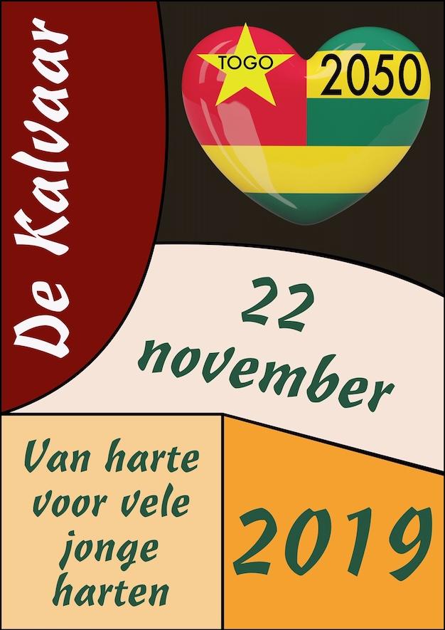 22 november • Van harte voor vele jonge harten • Togo2050 @ De Kalvaar